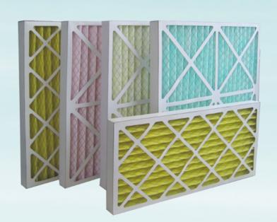 折叠式纸框过滤器